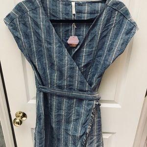 Pinkblush wrap dress